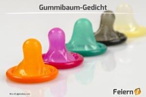 Gummibaum-Gedicht - Feiern1.de