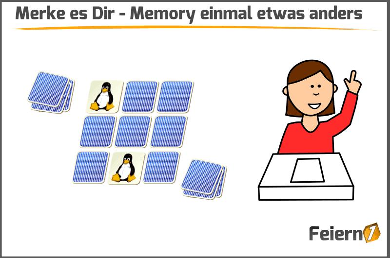 Merke es Dir - Memory einmal etwas anders