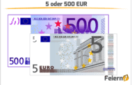 5 oder 500 EUR