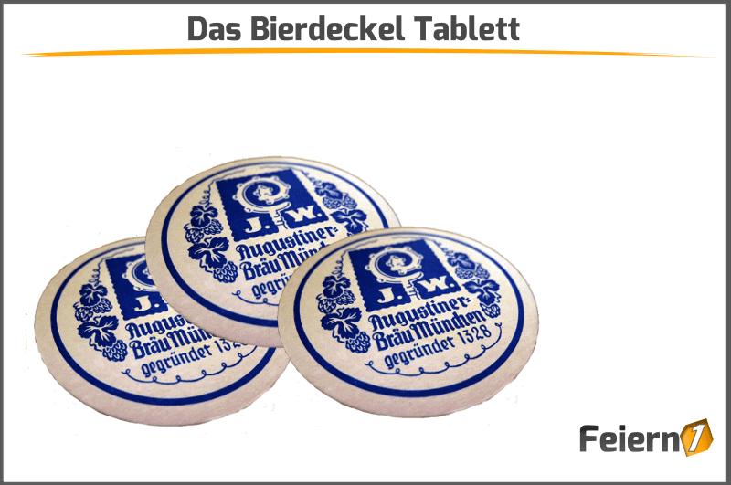 Das Bierdeckel Tablett