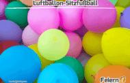Luftballon-Sitzfußball