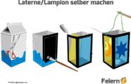 Laterne/Lampion selber machen