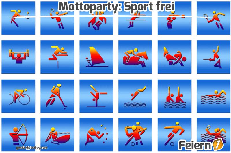 Mottoparty: Sport frei