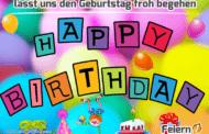 lasst uns den Geburtstag froh begehen