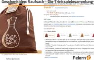 Geschenkidee: Saufsack - Die Trinkspielesammlung