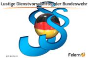 Lustige Dienstvorschriften der Bundeswehr