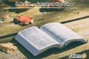 B.U.C.H. – das neuartige Ding