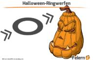 Halloween-Ringwerfen