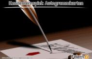 Kennenlernspiel: Autogrammkarten