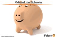 Ode auf das Schwein